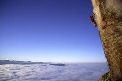 Rock Climbing Photo: Randy Leavitt on Pockets of Resistance. Photo by J...