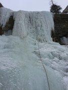 Rock Climbing Photo: Deadbolt crux pitch