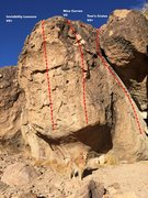 Rock Climbing Photo: Invisibility Lessons, Nice Curves and Tom's Cruise...