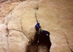 Rock Climbing Photo: climb went this way