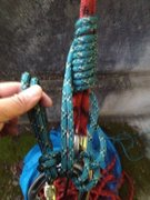 Rock Climbing Photo: Autoblock for knot pass relesable with munter mule