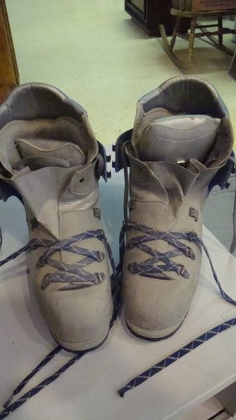 Rock Climbing Photo: Plastic Double Boots-