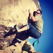 Rock Climbing Photo: i smell something funny