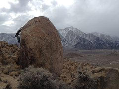 Rock Climbing Photo: Bouldering, Alabama hills