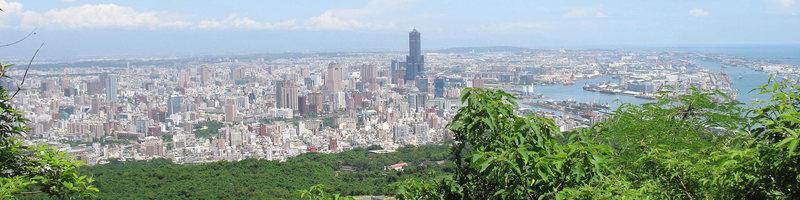 Overlooking Kaohsiung