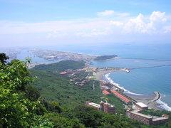 Rock Climbing Photo: Overlooking SYSU and Qijin