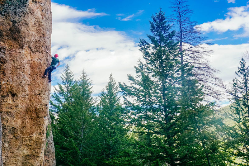 Rock Climbing Photo: Ten Slizzzzeeeeeepppp