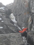 Rock Climbing Photo: Hessie Chimney, 12/29/15.