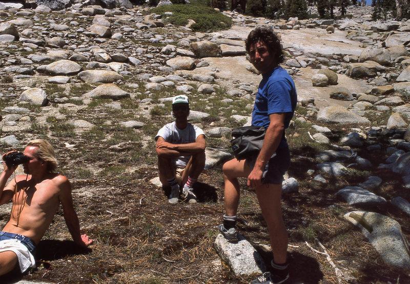 Rock Climbing Photo: Al 'Dude' Swanson and the late Billy Blitzo hangin...