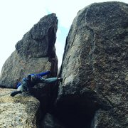 Rock Climbing Photo: It CAN be done!