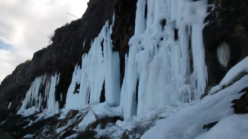 Rock Climbing Photo: Twin Falls Jan 9th