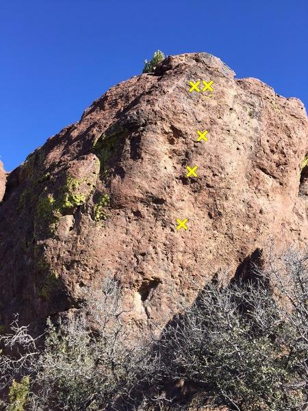 Rock Climbing Photo: Pro locations