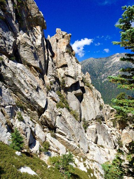 Rock Climbing Photo: Key Hole Tower!!!