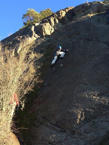 Rock Climbing Photo: Hutch on Trepidation
