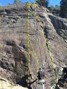Rock Climbing Photo: 1.1 Sodo Mojo (5.8), 1.2 Sodo Mojo Variation (5.10...