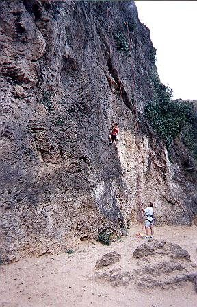 From Ron's climbing page
