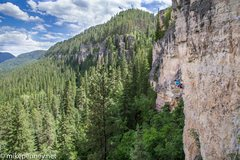Rock Climbing Photo: Dennis Barnes enjoying the buckety goodness that i...