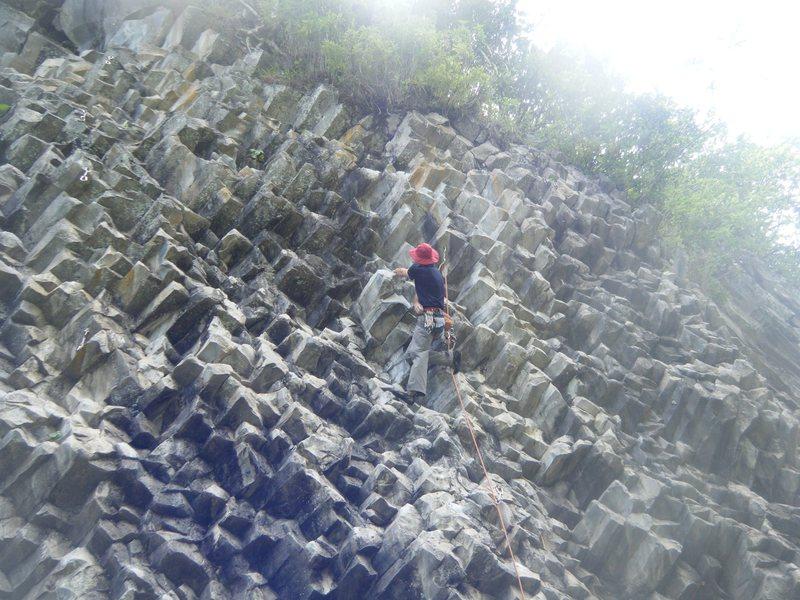 Basalt near Boquete, Panama