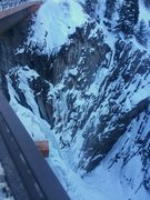 Rock Climbing Photo: An image of the route in ideal conditions.