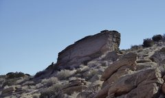 Rock Climbing Photo: Crack lines. approximate location 33.220439, -116....