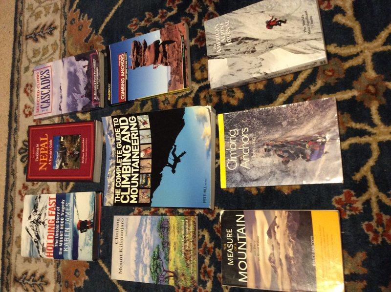 Rock Climbing Photo: Bookss