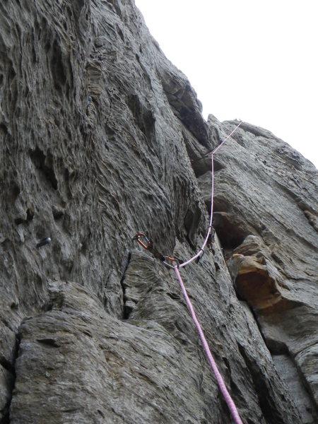 Rock Climbing Photo: View from Below
