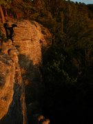 Rock Climbing Photo: Sunset in Berdorf