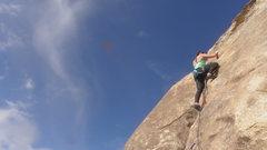 Rock Climbing Photo: Jackie Miranda on Monkey Toes  (AKA Wet Your Whist...