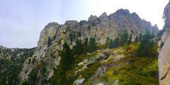 Rock Climbing Photo: Wall of Echos and Indian Buttress in all its glory...