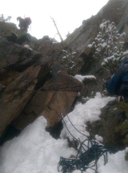 Rock Climbing Photo: East Glacier Knob RMNP #2