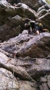 Rock Climbing Photo: Annapolis Rocks.... This photo gives the illusion ...
