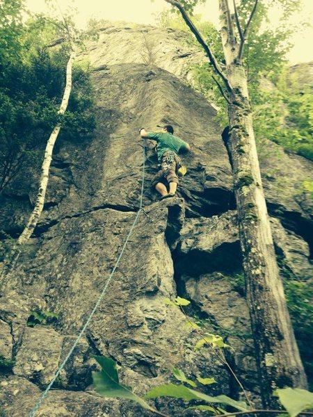 Rock Climbing Photo: Bolton