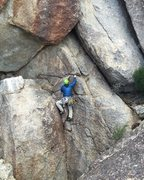 Rock Climbing Photo: Climbing between the start of Spinal Nerve and the...