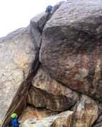 Rock Climbing Photo: Some of the photos for this ascent were taken from...