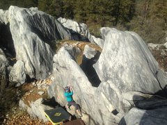 Rock Climbing Photo: Traverse of the Gods