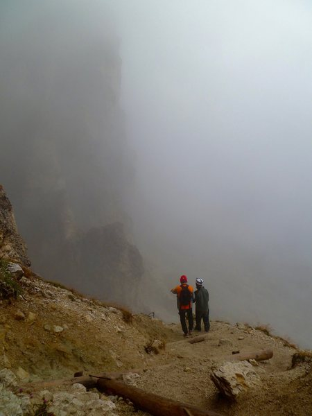 Leaving the tunnel and into the fog