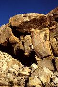 Rock Climbing Photo: Starting Triple Ripple (5.10b)