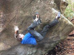 Rock Climbing Photo: Mad chuffing