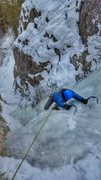 Rock Climbing Photo: Last Chance Falls 1/13/16