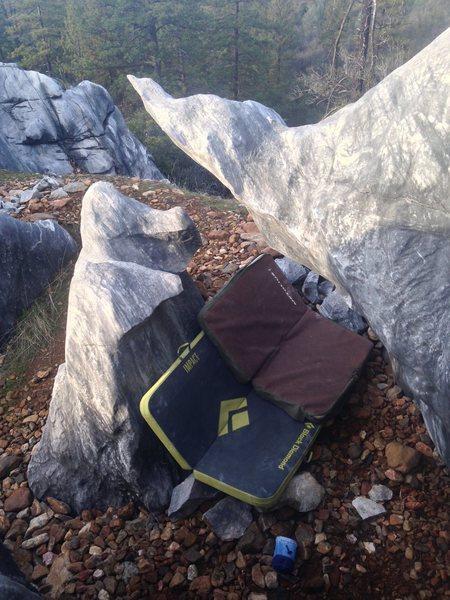Rock Climbing Photo: Elephant Head (V1)