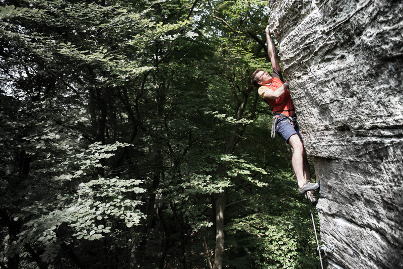 Rock Climbing Photo: Upper Section  Photo by Tommy Hardt