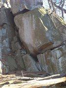 Rock Climbing Photo: Undone compression problem.