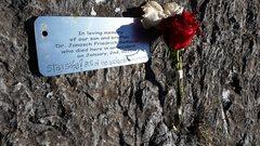 Rock Climbing Photo: Rest in peace Janosch.