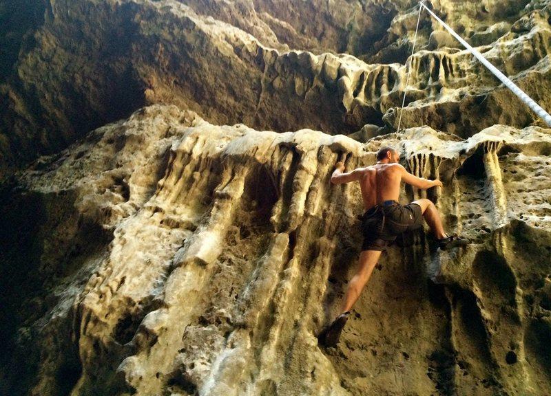 Rock Climbing Photo: Give it back
