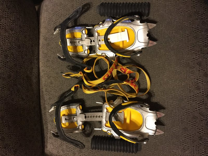 Rock Climbing Photo: Grivel crampons