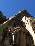 Rock Climbing Photo: Danny G working his hip flexors