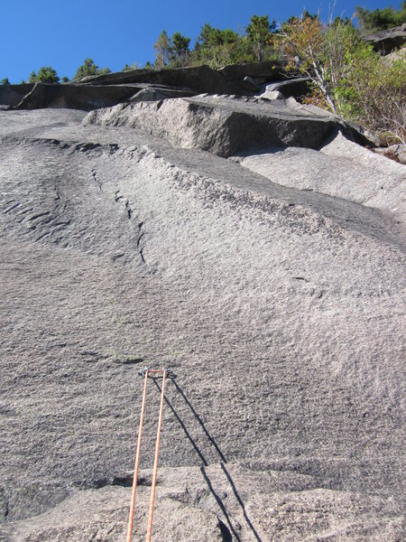 Rock Climbing Photo: Pitch three.