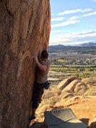 Rock Climbing Photo: sharp tiny holds