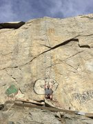 Rock Climbing Photo: Route run straight above me. Pretty awesome outdoo...
