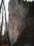 Rock Climbing Photo: A picture of Mammoth Rock/ The Remedy Boulder.